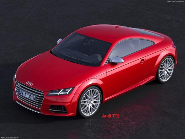 Audi TTS 2015 - (Auto, Aussehen, Sportwagen)