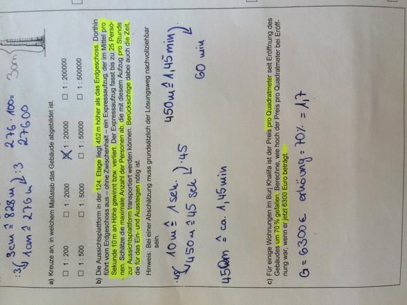 Aufgabe c - (Mathe, Mathematik, Rechnen)