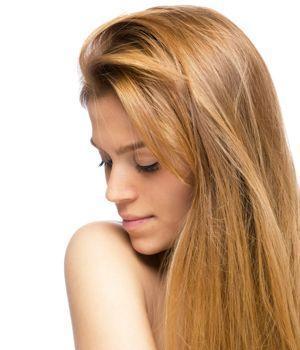 Haare hellbraun tonen