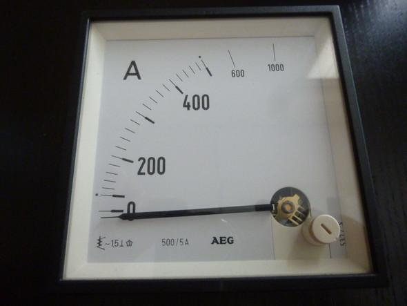 von vorn - (Strom, messen, Messgerät)