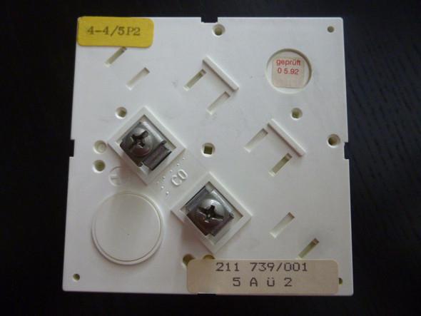 von hinten - (Strom, messen, Messgerät)
