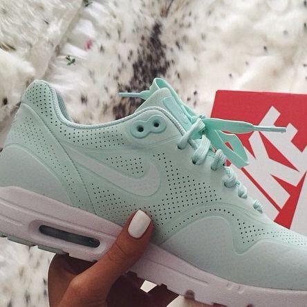 dames nike air max 1 ultra moire fiberglass sneakers mintgroen