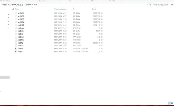 Dateien - (PC, TV, DVD)
