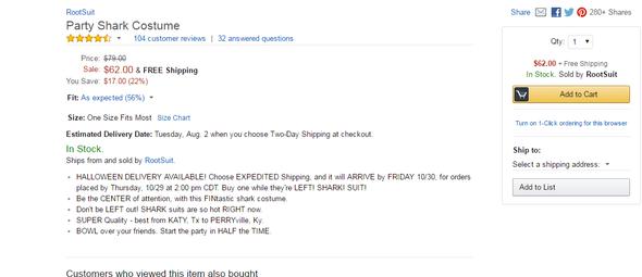 So sieht das bei mir aus - (Amazon, Online-Shop)