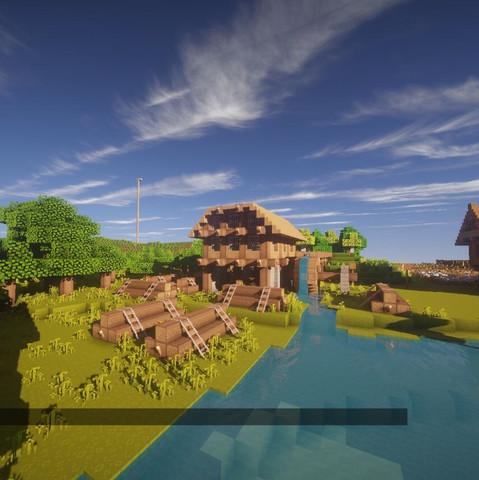 Ich Suche Bauideen Für Mein Minecraft Dorf Möglichst Passend Zu Dem - Minecraft gute hauser