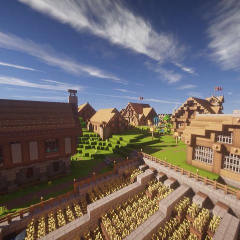 Ich Suche Bauideen Fur Mein Minecraft Dorf Moglichst Passend Zu
