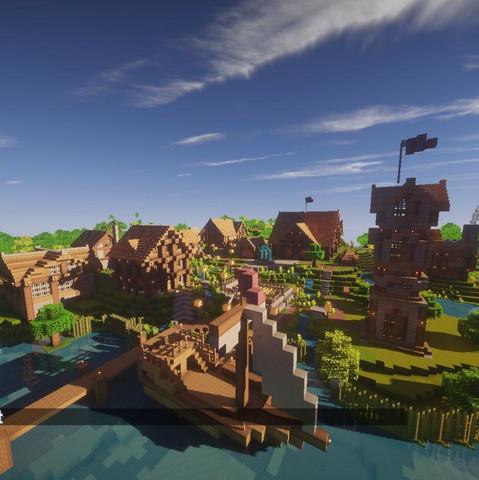 Ich Suche Bauideen Für Mein Minecraft Dorf Möglichst Passend Zu Dem - Minecraft hauser verschonern