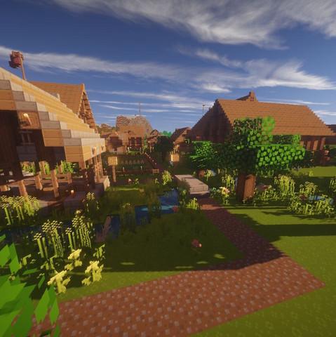 Ich Suche Bauideen Für Mein Minecraft Dorf Möglichst Passend Zu Dem - Minecraft riesige hauser