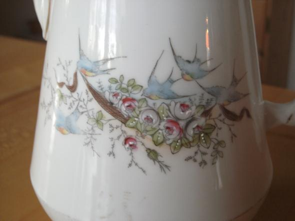 Muster vergrößert - (Kaffee, Marken., Service)