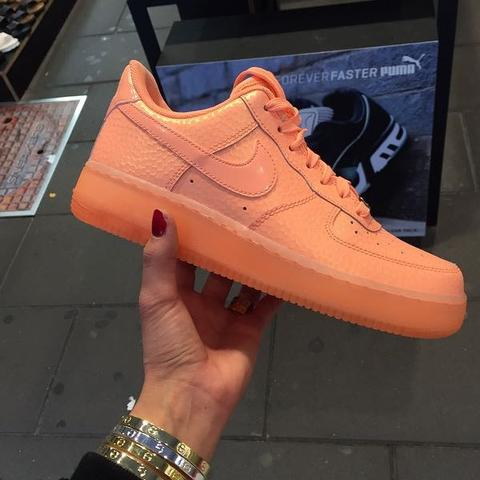 nike air force 1 sunset glow