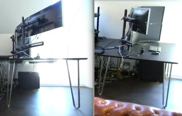 reg - (Tisch, Schreibtisch)