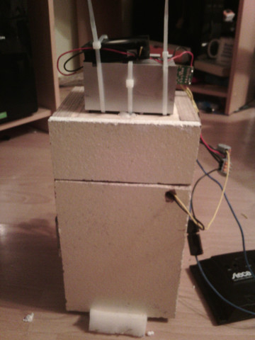 Außenseite des Kühlschranks  - (Physik, Elektronik, Elektrotechnik)