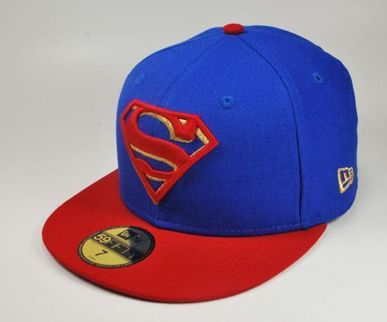 DC comic cap - (Cap, Superman)
