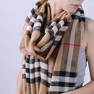 Burberry Schal - lang und genau dieses Muster/Farbe suche ich - (Klamotten, Marke, Schal)