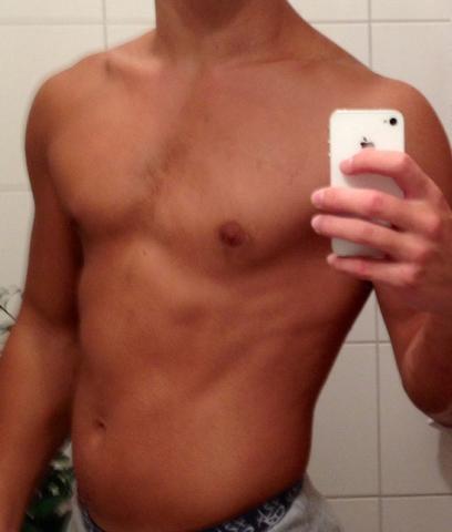 Hier das Bild zu meinen Bauchmuskeln - (Sport, Fitness, Muskeln)