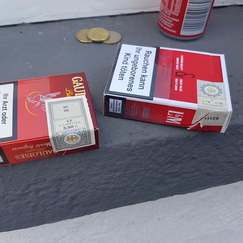 Links alt rechts neu - (Alter, Zigaretten)