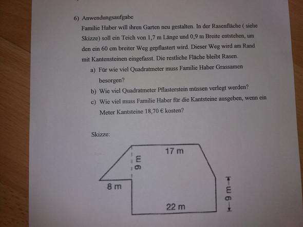 - (Mathe, Aufgabe)