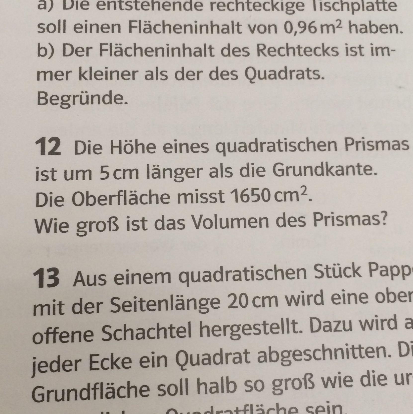Großartig Volumen Eines Rechteckigen Prismas Wort Probleme ...