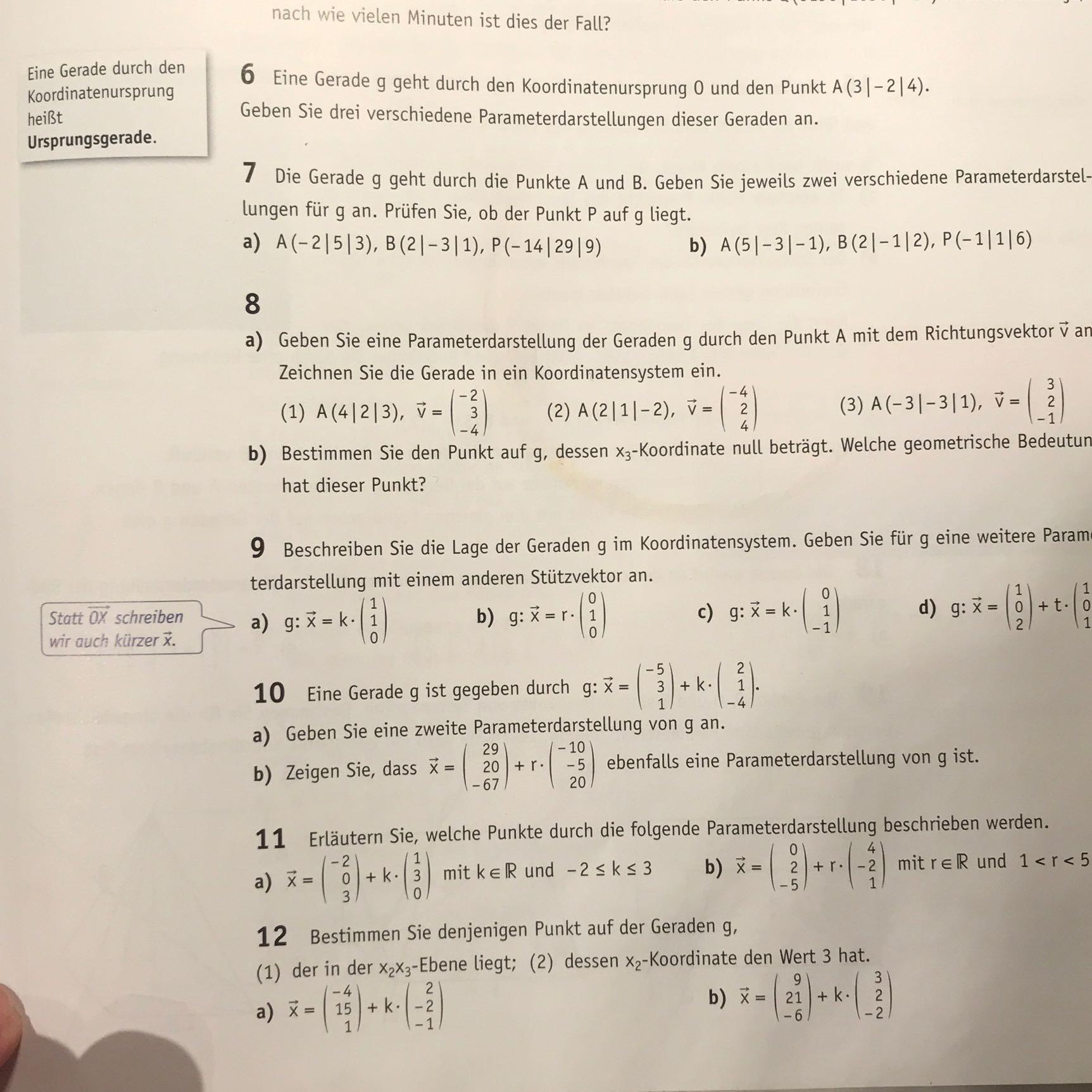 Ich verstehe die Mathe Aufgaben nicht, könnte mir bitte die erklären ...