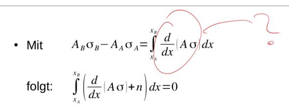 - (Mathematik, Physik, Integralrechnung)