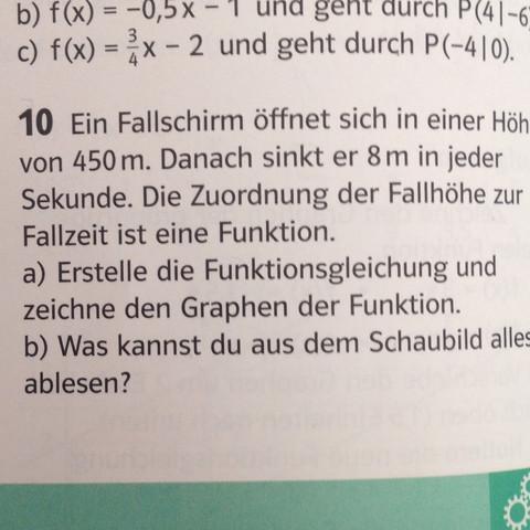 Aufgabe a) - (Schule, Mathe, Mathematik)
