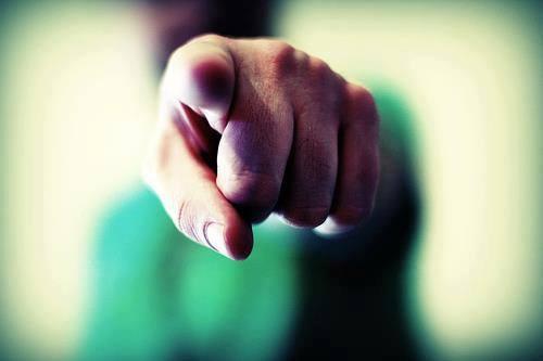 zeigefinger - (Freizeit, Bedeutung, Satz)