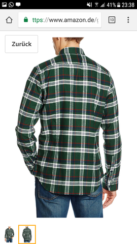 - (Mode, Hemd, Kragenweite)
