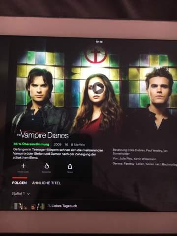 - (Filme und Serien, Serie, The Vampire Diaries)
