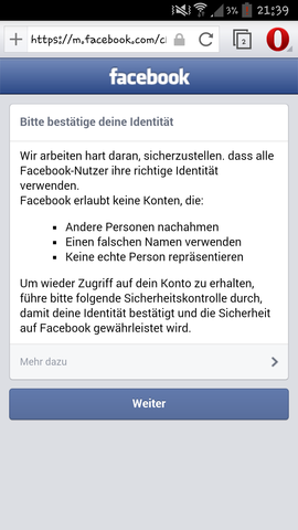 screenshot - (Facebook)