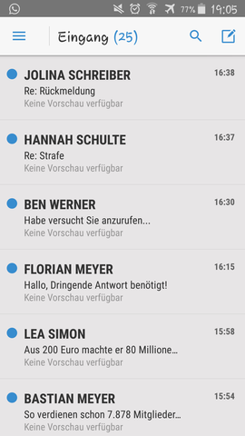 Ich werde seit kurzem von einer großen Welle an Spam E-Mails überrollt, wie kann ich mich schützen?