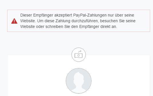 Paypal Screenshot - (Website, PayPal)