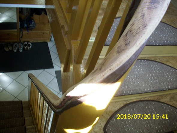 Ich will meine meinen treppen handlauf neu streichen for Holztreppe streichen farbe