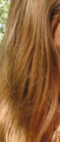 meine haare :) leider sehen die nur so aus, wenn ich sie frisch gewaschen habe - (Haare, Farbe, Frisur)