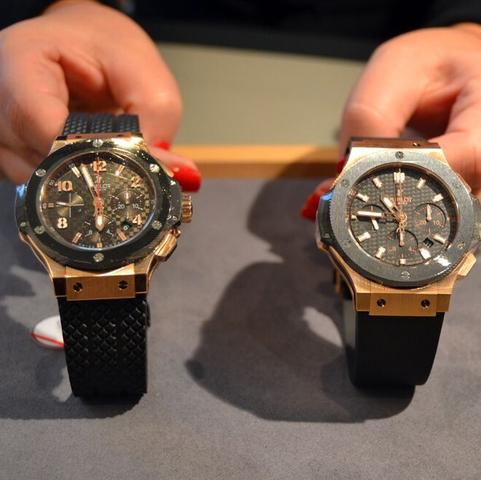 Was ist eig der unterscheid der Uhren? will mir die Linke bei Volluhren kaufen  - (Fake, Chronograph, hublot)