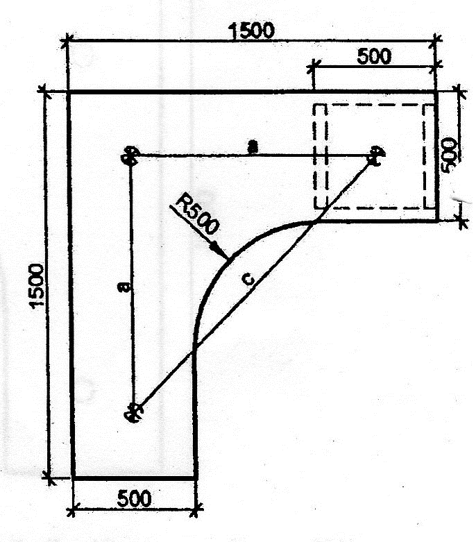ich w rde gern wissen wie ich diese fl che berechnen kann. Black Bedroom Furniture Sets. Home Design Ideas