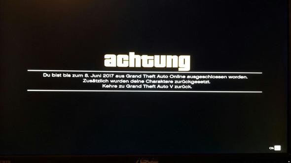 erster Bann - (Games, online, GTA 5)