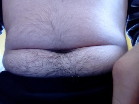 Dicke Speckrollen  - (Körper, Gewicht, fett)