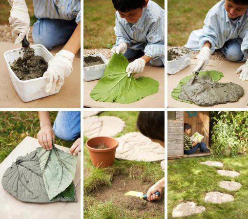 Steinplatte - (Garten, Kultur, Wegebau)