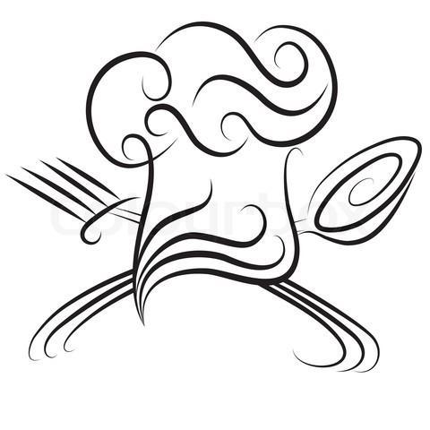Ideen f r ein deckblatt f r den schulfach fachpraxis for Koch zeichnen
