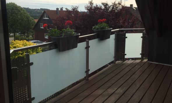 Balkon 2 - (Holz, Metall, Architektur)