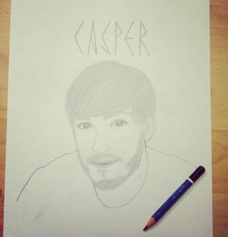 Casper - (Manga, zeichnen, Zeichnung)