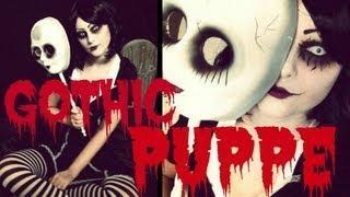 Gothic-Puppe - (Horror, Kostüm, Halloween)
