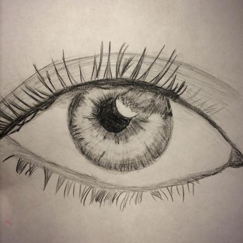 Auge - (Ideen, Zeichnung)