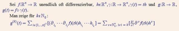 Aufgabe aus der Analysis 2 - (Mathematik, Beweis, Identitaet)