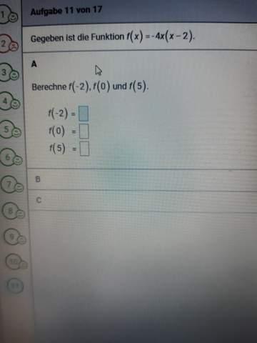 Ih brauche Hilfe bei der Mathefunktion?