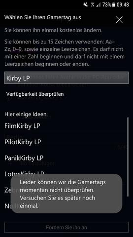 Iich Wollte Den Gamertag Von Meinem Xbox Live Konto Auf Dem