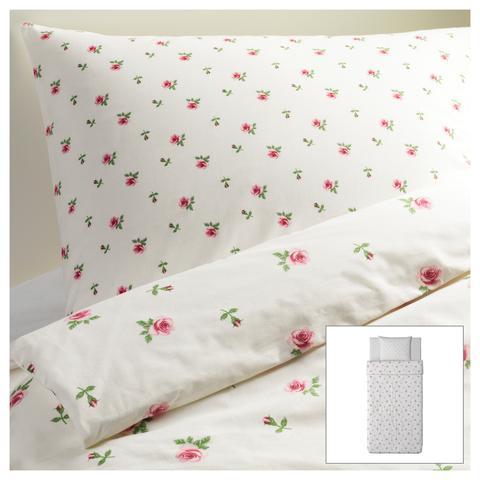 Blumenbettwäsche Ikea - (wohnen, Möbel, Dekoration)