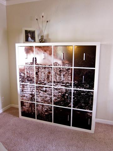 ikea kallax hack bildschrank auch mit glast ren m glich basteln handwerk. Black Bedroom Furniture Sets. Home Design Ideas