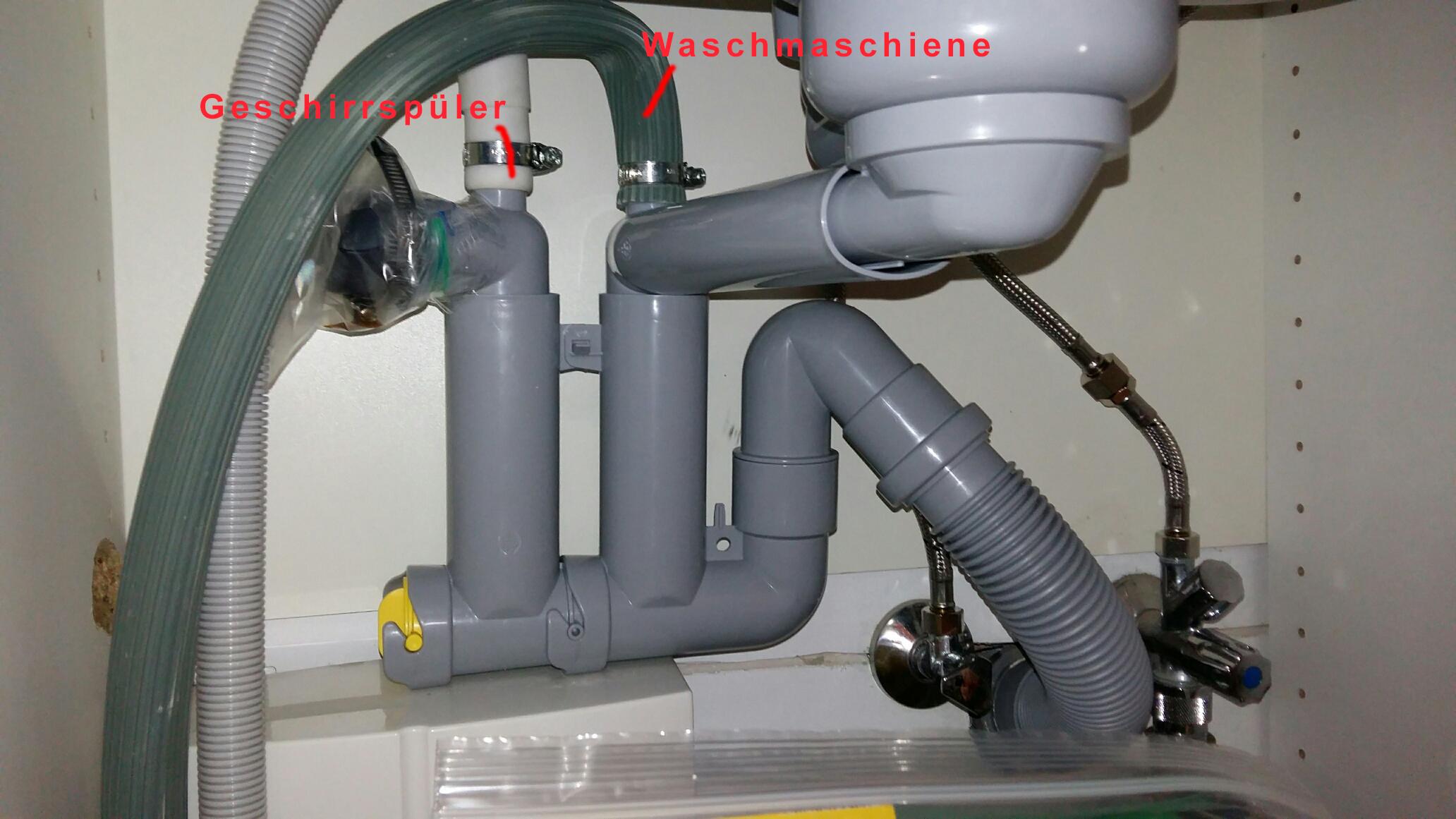 Ikea Waschbecken Siphon Und Anschluss Waschmaschine Und Geschirrspuler Laufen Alle Schlecht Ab Was Muss Anders Abfluss