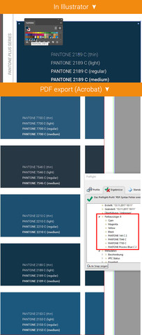 Illustrator exportiert kein PANTONE Plus - (Adobe, PDF, Export)